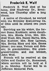 Frederick Ernest Wolf (1863-1947) - Find A Grave Memorial
