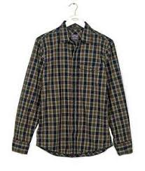Details About Fatface Mens Dark Ink Brown Classic Fit Thursby Check Shirt 917857 Size M