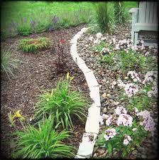 garden edging ideas path uk lawn wooden nz asbjorn info