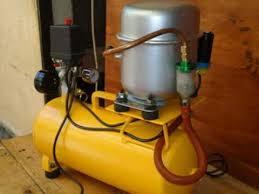 compresor de aire casero. compresor de aire casero
