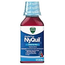 Cough Cold And Flu Nighttime Relief 12 Fl Oz