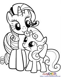 Small Picture Mlp Fim Coloring Pages FunyColoring