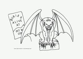 Small Picture adult scary halloween coloring pages printables scary halloween