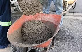 project backyard pouring a concrete