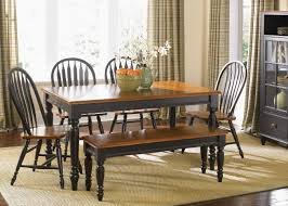 Country Dining Table With Bench House Plans And More House Design