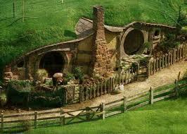 Hobbit style home