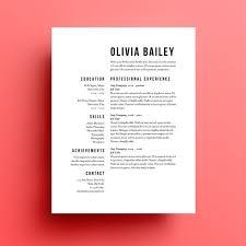 Resume Templates For Graphic Designers 13 Best 25 Designer Ideas On