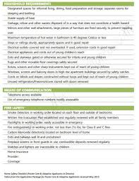 home safety checklist to prep for first home study foster adoption process mommameesh wordpress