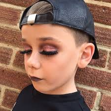 smokey eyes contouring perfect lashes you name it the boy can do it all