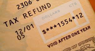 Image result for tax refund checks