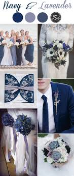 Navy Blue And Lavender Wedding Colors