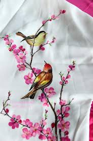 Fabric Painting Designs Of Birds Pin By Swetha On Figure Paintings Fabric Painting On