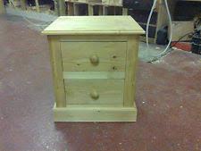 Antique Pine Bedside Cabinet | eBay