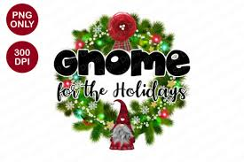 Christmas Gnome For The Holidays Graphic By Sinedigitaldesign Creative Fabrica