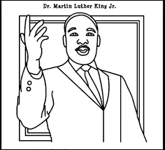 Small Picture Mlk Coloring Pages Digital Art Gallery Martin Luther King Jr