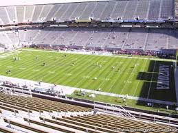 Sun Devil Stadium Seat Views Section By Section