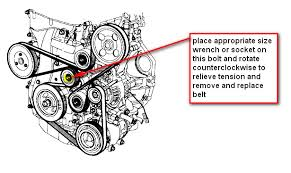 how do i change the serpentine belt on my 2006 5 kia optima 2