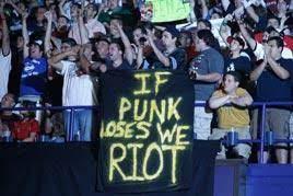 "♤RJ Cruz on Twitter: """"If Punk loses we riot..."" Well, are you ready to  start the riot? #CMPunk @TeamCMPunk #RoyalRumble = #ArizonaScrewJob  http://t.co/TTwJymWW"""
