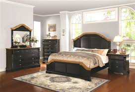 Two Tone Bedroom Furniture 6 Piece Bedroom Set In Black And Brown Two Tone  Finish By . Two Tone Bedroom ...