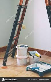 Light Blue Room Paint Freshly Painted Light Blue Room Painting Equipments Home