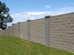 block perimeter fencing