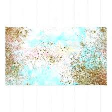 seafoam bath rug sea green rug pink and gold mermaid sea foam glitter rug green contour bathroom rug
