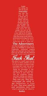 banksys anti advertising manifesto the denver egotist anti advertising agency office
