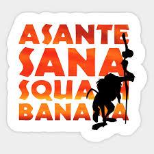 My Asante Chart Asante Sana Squash Banana