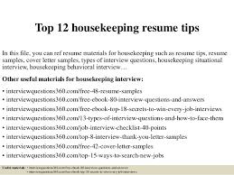 Resume Template Hospital Housekeeping Resume Examples Free Career