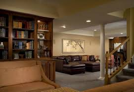 Basement Redesign Interesting Basement Apartment Ideas Also - Wet basement floor ideas