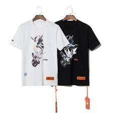 2019 Summer Style Heron Preston Doves Printed Women Men T Shirts Tees Hiphop Streetwear Men Cotton Short Sleeve T Shirt