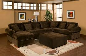 microfiber sectional sofa. Wonderful Microfiber 3 Pc Bradley Sectional Sofa With Chocolate Plush Velour Microfiber Fabric  Upholstery And Chaise Throw Pillows With Microfiber Sectional Sofa Z