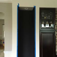 Kitchen Chalkboard Wall Make A Magnetic Chalkboard Wall My One And Only Home