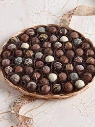 chocolate truffle tray