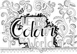Kleurplaat Kleur Je Wereld Kleur En Miks