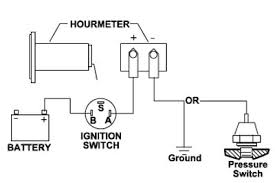 hour meter wiring diagram wiring diagram in this manner the hourmeter runs only when is running not all s have additional oil pressure ports outboards do that can be