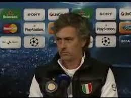 Conferenza stampa integrale Josè Mourinho Inter-Rubin - Video Dailymotion