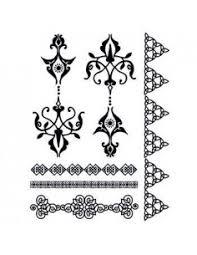 šedý Splétaný Náramek Tribal Nalepovací Tetování Potetujcz