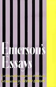 essays first and second series in one volume by emerson ralph essays first and second series in one volume by emerson ralph waldo abebooks