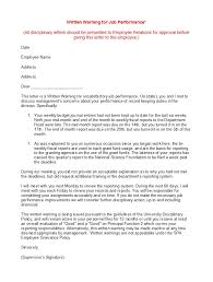 How To Write A Warning Letter To An Employee A Warning Letter To An Employee Magdalene Project Org