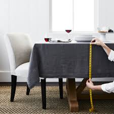 dining room table cloth. Williams Sonoma Tablecloth Size Calculator Dining Room Table Cloth