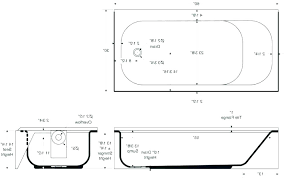 standard bath length standard bath length bathtub dimensions of tub images the standard size bathroom in