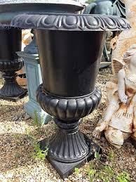 cast iron garden urn wells reclamation