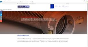 jb websites federal hose manufacturing website a jb websites website production