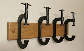 C-Clamp Coat Rack