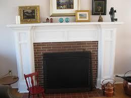 Mantel On Brick Fireplace Brick Fireplace Mantel Ideas Best 25 Brick Fireplaces Ideas On