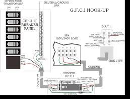 wiring diagram 220v gfci breaker wirdig