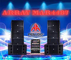 Dàn Loa ARRAY MAR4487 | loa aray sân khấu