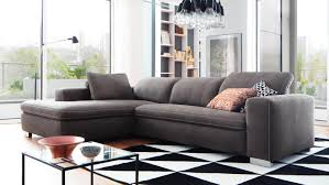 Ecksofa Lakewood In Stoff Anthrazit Inkl Verstellbare