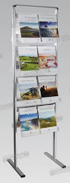 Free Standing Literature Display Classy Free Standing Brochure Double Sided Holds 32 X A32 Brochures